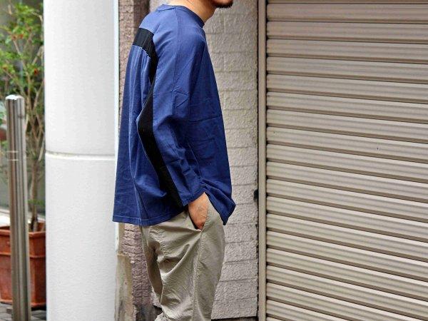 ORBIT L/S TEE 【NAVY】 / ionoi