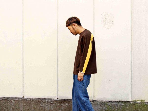 ORBIT L/S TEE 【BROWN】 / ionoi