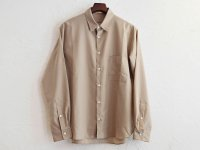 TUMBLER SOFT SHIRT 【BEIGE】 / LAMOND