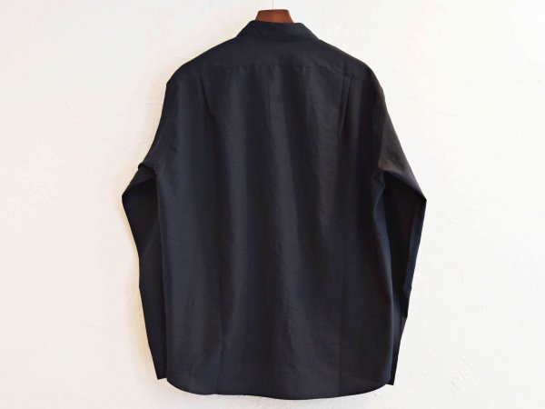 TUMBLER SOFT SHIRT 【NAVY】 / LAMOND ラモンド