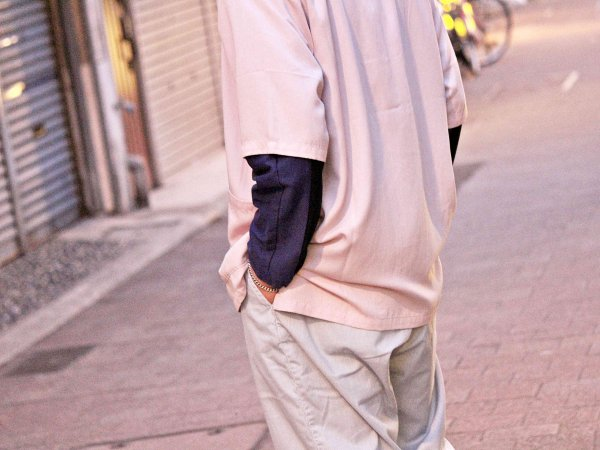 ELLIS S/S JK 【PINK】 / Nasngwam. ナスングワム