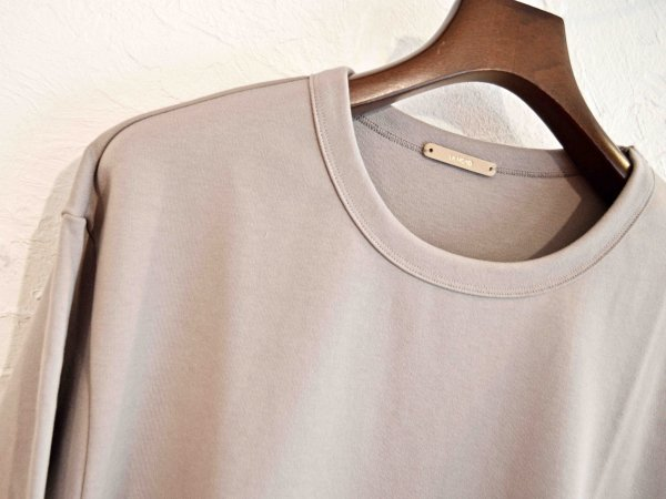 W-KNIT-TEE 【GRAY BEIGE】 / LAMOND