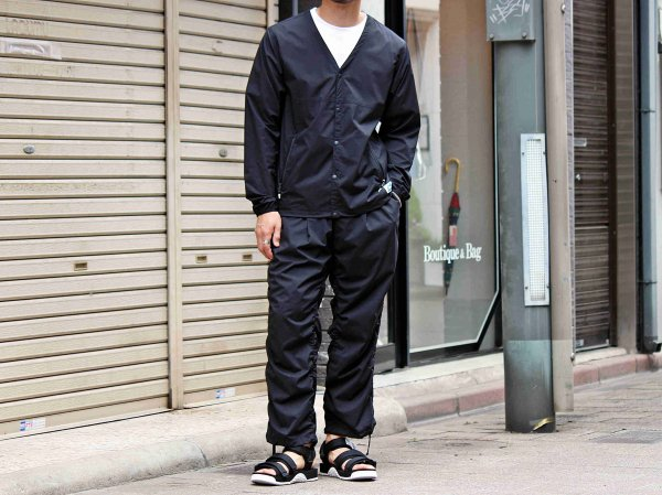 Puckering Pants 【BLACK】 / MOUTAIN EQUIPMENT