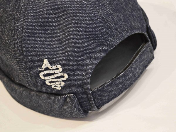 Denim Roll CAP 【NAVY】 / ALDIES