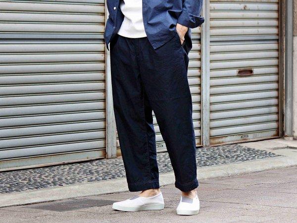 C/N Tapered cropped pants 【DARK NAVY】 / SPELLBOUND