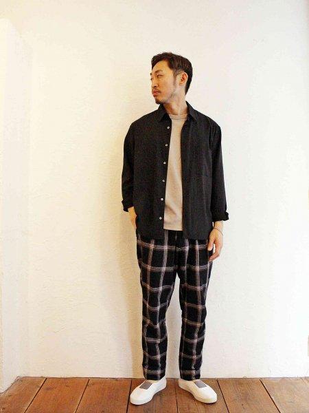 GALLIANO PANTS 【BLACK】 / Nasngwam. ナスングワム
