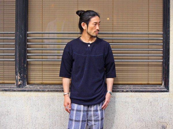 イズミールコットンパイルコンチョヘンリー 【NAVY】 / SPINNER BAIT