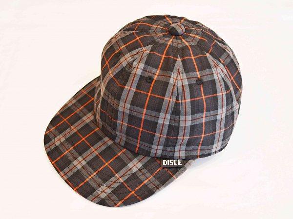 PLAID CAP 【CHARCOAL】 / DISCE GAUDERE