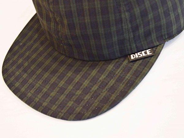 PLAID CAP 【GREEN】 / DISCE GAUDERE