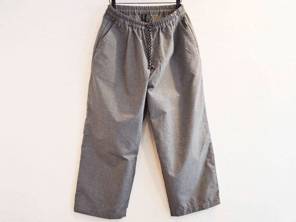 Slacks Easy Cropped 【GRAY】 / SPELLBOUND