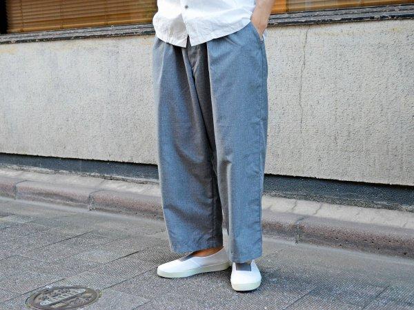 Slacks Easy Cropped 【GRAY】 / SPELLBOUND