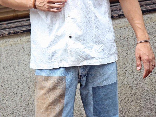 Open Collar Shirts 【WHITE】 / modemdesign