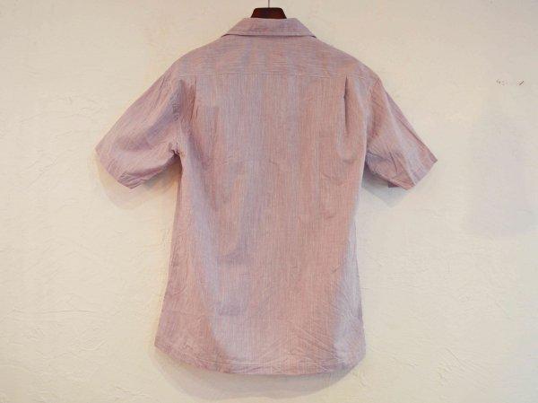 Open Collar Shirts 【PURPLE】 / modemdesign