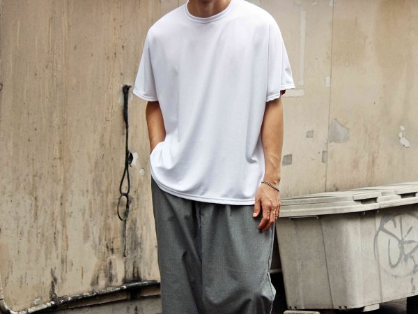 ORBIT TEE(JUPITER) 【WHITE】 / ionoi
