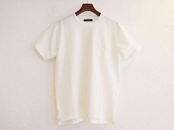 coolmax S/S Pocket TEE 【WHITE】 / modemdesign<img class='new_mark_img2' src='//img.shop-pro.jp/img/new/icons1.gif' style='border:none;display:inline;margin:0px;padding:0px;width:auto;' />