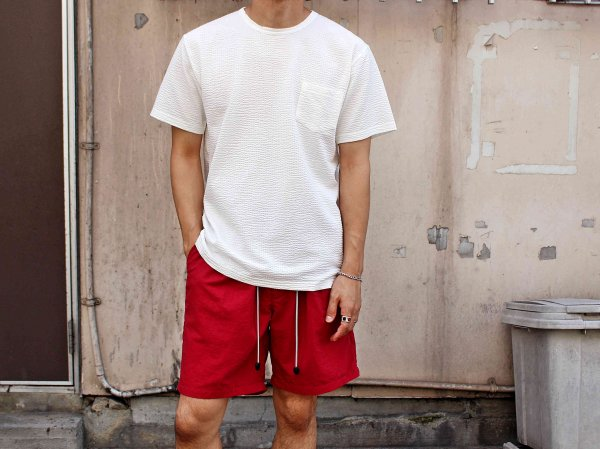 coolmax S/S Pocket TEE 【WHITE】 / modemdesign