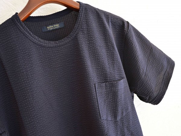 coolmax S/S Pocket TEE 【NAVY】 / modemdesign<img class='new_mark_img2' src='//img.shop-pro.jp/img/new/icons1.gif' style='border:none;display:inline;margin:0px;padding:0px;width:auto;' />