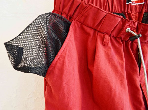 WEATHER SHORTS 【RED】 / ionoi