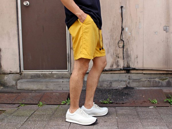 WEATHER SHORTS 【YELLOW】 / ionoi