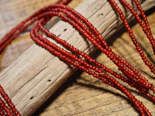 TERRACED NECKLACE 【RED】 / Nasngwam. ナスングワム