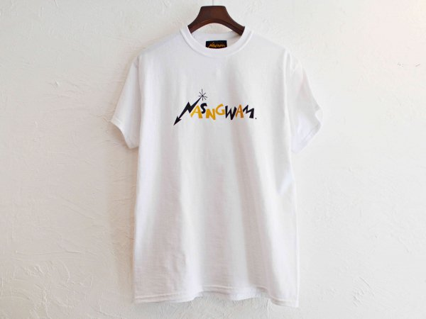 80'S LOGO TEE 【WHITE】 / NASNGWAM<img class='new_mark_img2' src='//img.shop-pro.jp/img/new/icons1.gif' style='border:none;display:inline;margin:0px;padding:0px;width:auto;' />