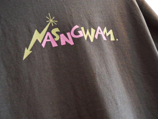 80'S LOGO TEE 【BLACK】 / Nasngwam. ナスングワム