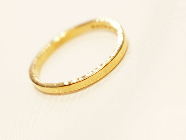 Loose Ring 【Gold】 / Tsunai Haiya
