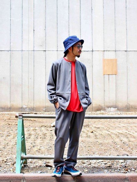 ASSIST JACKET 【GRAY】 / Nasngwam. ナスングワム