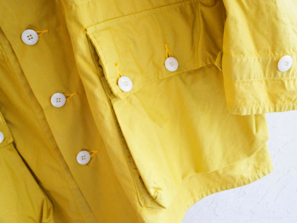 SWEDE COAT 【YELLOW】 / NASNGWAM<img class='new_mark_img2' src='//img.shop-pro.jp/img/new/icons1.gif' style='border:none;display:inline;margin:0px;padding:0px;width:auto;' />