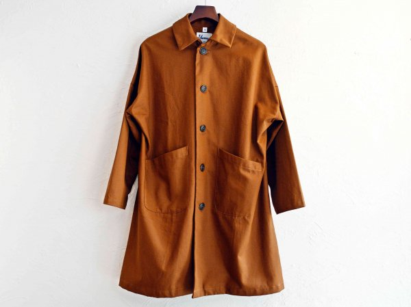 DUSTER COAT 【TAN】 / YARMO