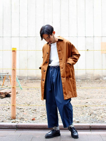 DUSTER COAT 【TAN】 / YARMO ヤーモ