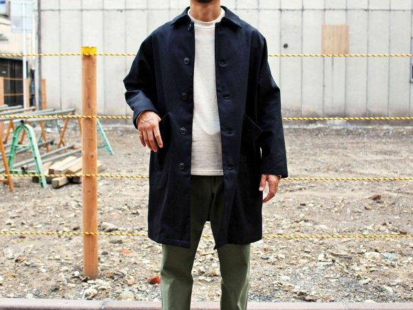 DUSTER COAT 【BLACK】 / YARMO
