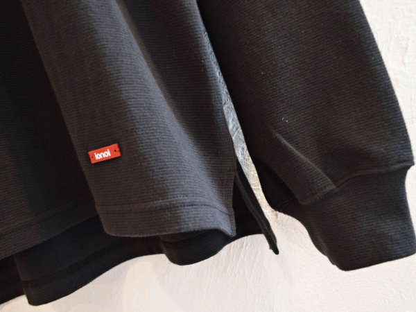 HABIT L/S TEE 【BLACK】 / ionoi