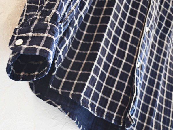 TWO POCKET SHIRTS 【NAVY】 / necessary or unnecessary ネセサリーオアアンネセサリー NOUN ナウン