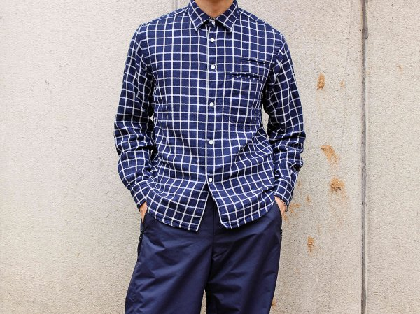 TWO POCKET SHIRTS 【NAVY】 / necessary or unnecessary<img class='new_mark_img2' src='//img.shop-pro.jp/img/new/icons1.gif' style='border:none;display:inline;margin:0px;padding:0px;width:auto;' />