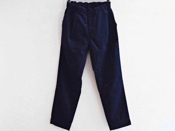 GALLIANO PANTS(CORDUROY) 【NAVY】 / Nasngwam. ナスングワム
