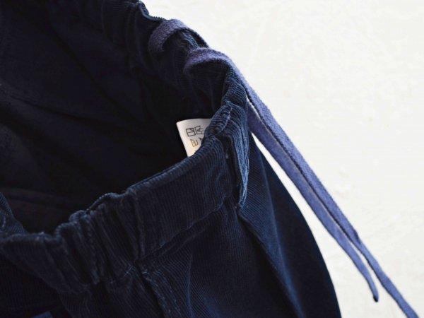 GALLIANO PANTS(CORDUROY) 【NAVY】 / Nasngwam. ナスングワム