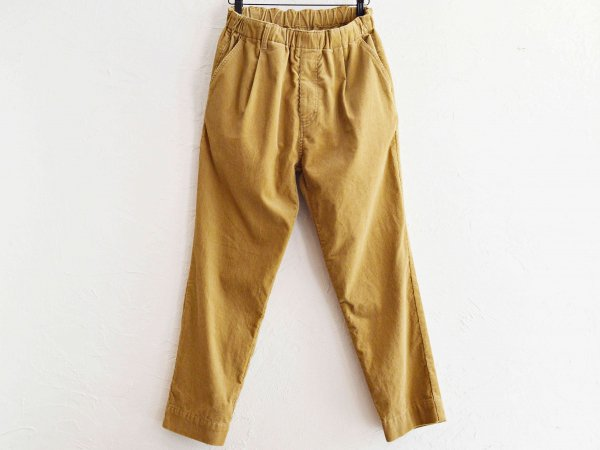 GALLIANO PANTS(CORDUROY) 【BEIGE】 / NASNGWAM<img class='new_mark_img2' src='//img.shop-pro.jp/img/new/icons1.gif' style='border:none;display:inline;margin:0px;padding:0px;width:auto;' />