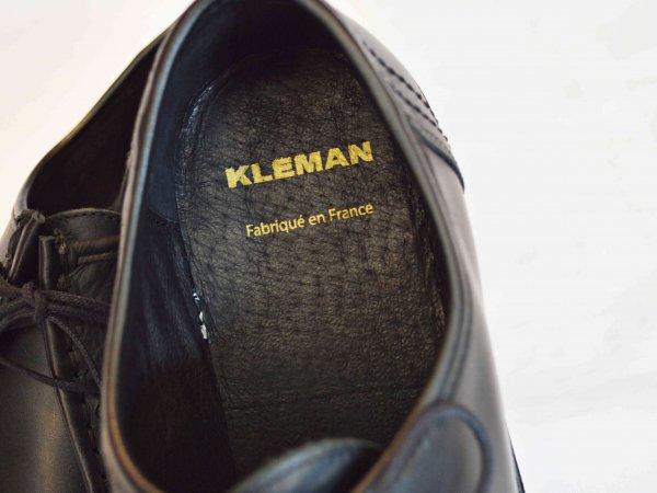 KLEMAN クレマン / PADRE パドレ チロリアンシューズ  (BLACK / ブラック)