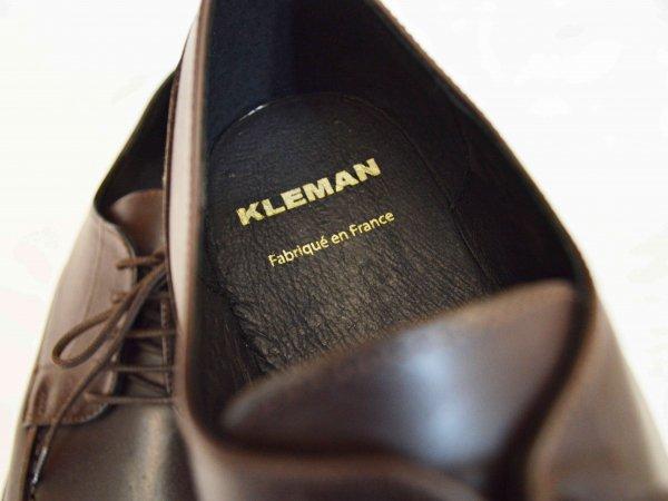KLEMAN クレマン / FRODA フローダ Uチップシューズ (BROWN / ブラウン)