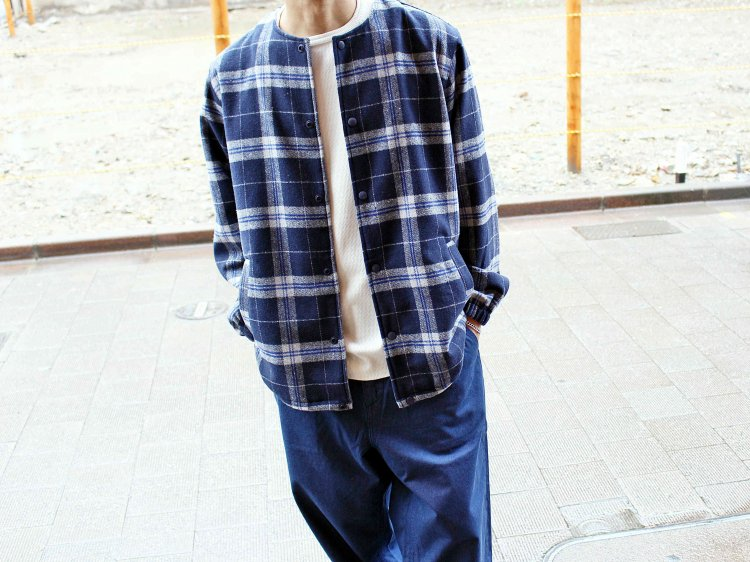 GALLIANO JACKET 【NAVY】 / Nasngwam. ナスングワム