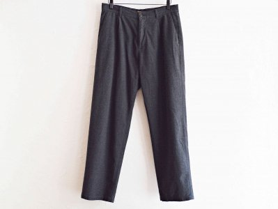 LAMOND ラモンド / MOLESKIN STRETCH TROUSERS モールスキンストレッチトラウザー  (CHARCOAL / チャコール) <img class='new_mark_img2' src='https://img.shop-pro.jp/img/new/icons1.gif' style='border:none;display:inline;margin:0px;padding:0px;width:auto;' />