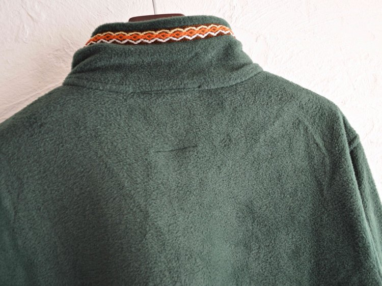 TIROLEAN ZIP FLEECE 【GREEN】 / Nasngwam. ナスングワム