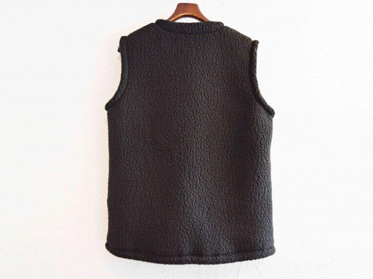 Pile Fleece Vest 【BLACK】 / MOUNTAIN EQUIPMENT マウンテンイクィップメント