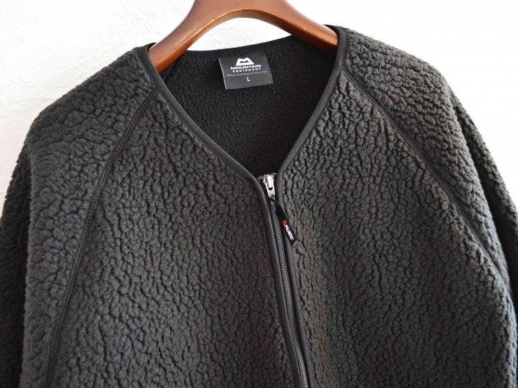 Pile Fleece Cardigan 【BLACK】 / MOUNTAIN EQUIPMENT