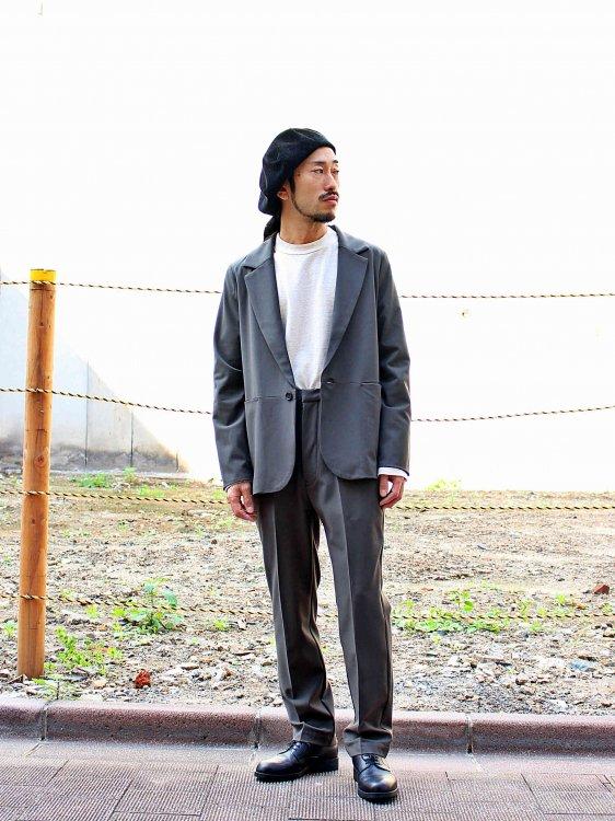 KUN 【DARK KHAKI】 / BASISBROEK