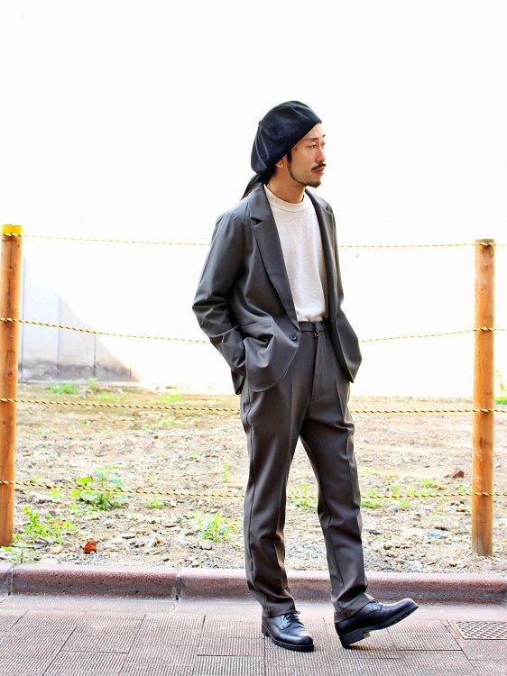 STAD 【DARK KHAKI】 / BASISBROEK
