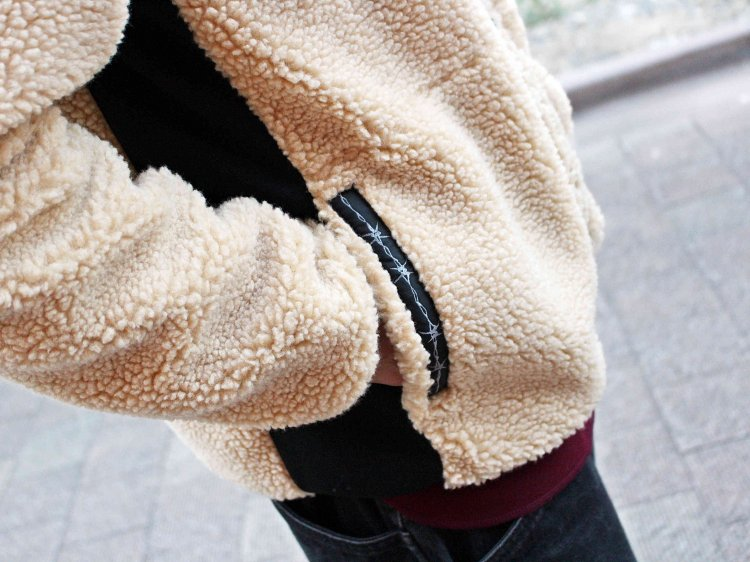 RETRO BOA FLEECE JACKET 【BEIGE】 / LAST CHANCE<img class='new_mark_img2' src='//img.shop-pro.jp/img/new/icons1.gif' style='border:none;display:inline;margin:0px;padding:0px;width:auto;' />