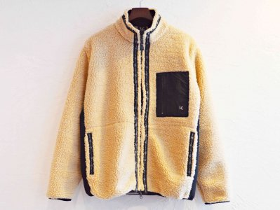 RETRO BOA FLEECE JACKET 【BEIGE】 / LAST CHANCE