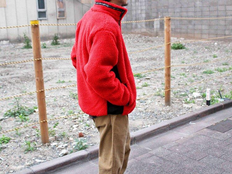 RETRO BOA FLEECE JACKET 【RED】 / LAST CHANCE